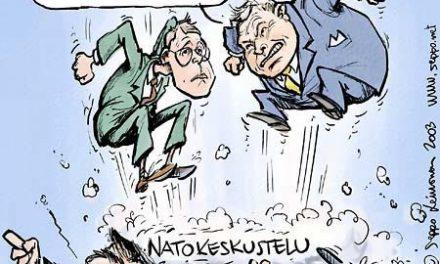 Yksimielistä keskustelua: presidentinvaalit ja Nato-keskustelu