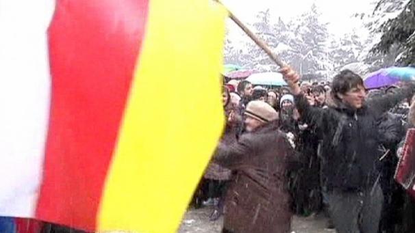 Arabikevät saapui Etelä-Ossetiaan?