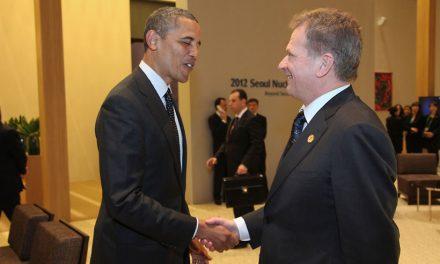 """Yhdysvaltojen """"uusi"""" presidentti ja Suomi"""