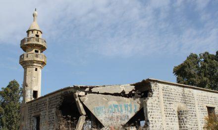 Syyria Golanilta nähtynä