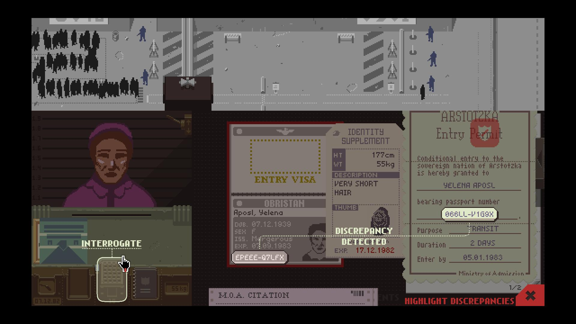 Pope: Papers, Please.