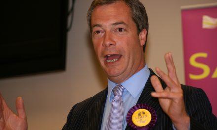 Nigel Faragen jytky?
