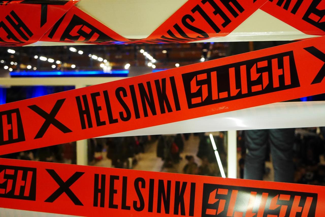 Slush-tapahtuma täytti Helsingin messukeskuksen