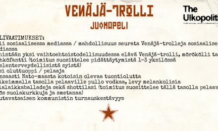 Venäjä-trolli-juomapeli