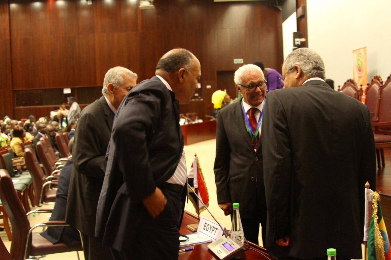 Egyptin delegaatio viimevuotisessa Afrikan unionin huippukokouksessa Malabossa. Kuva: Flickr / Päiväntasaajan Guinean Lähetystö