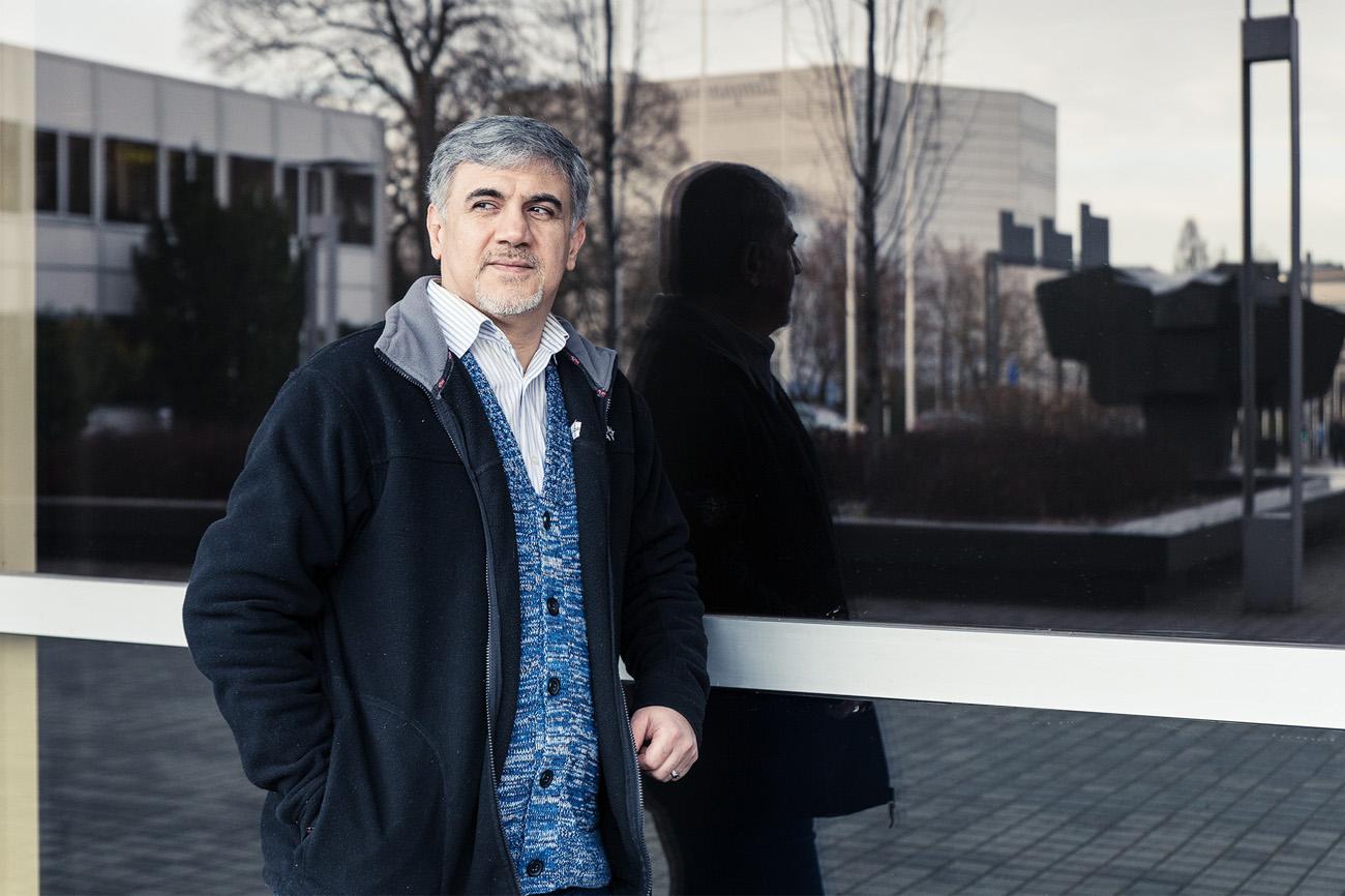 Tampereesta on tullut Hossein Alizadeh:n uusi koti