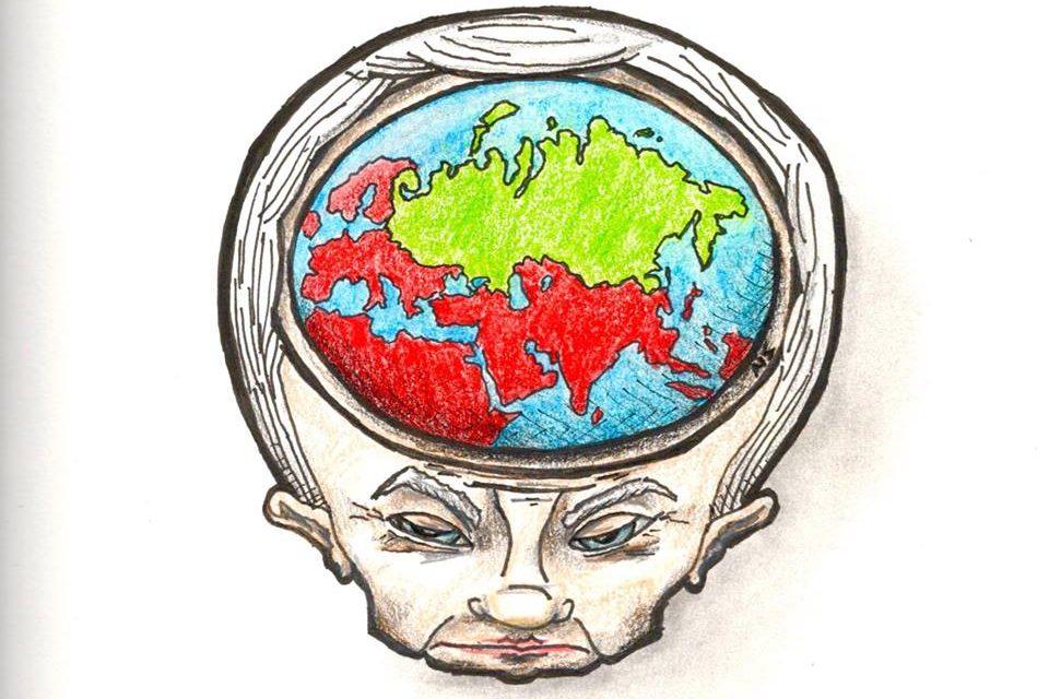 Putinin pääkopan maailmanpoliittinen merkitys