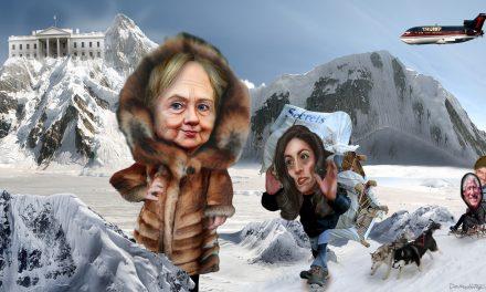 Clinton vai Trump? 10 osavaltiota ratkaisee kisan