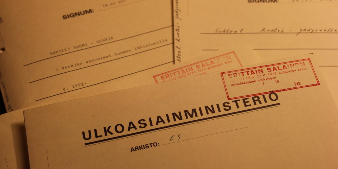 Katsaus vuoden 1992 arkistoihin: Suomen asema uudessa maailmanjärjestyksessä
