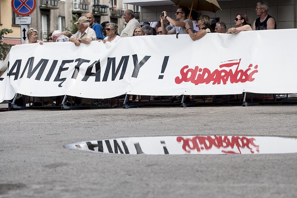 Solidaarisuuden haamu leijailee Puolassa