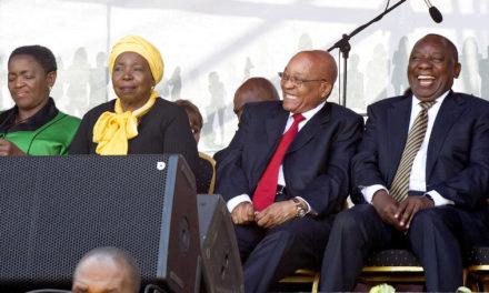 ANC:ssa kamppaillaan presidentti Jacob Zuman ja koko puolueen tulevaisuudesta