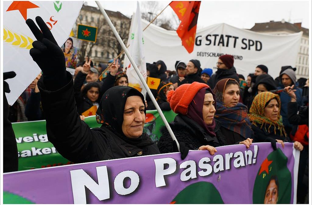 Kurdit eivät voi pelastaa Afrinia ilman keskinäistä yhteistyötä