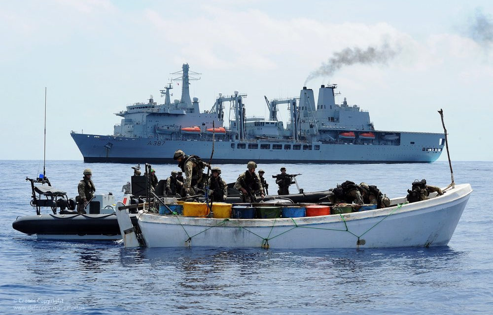 Jotain samaa, jotain uutta: Merirosvot Länsi-Afrikan Guineanlahdella