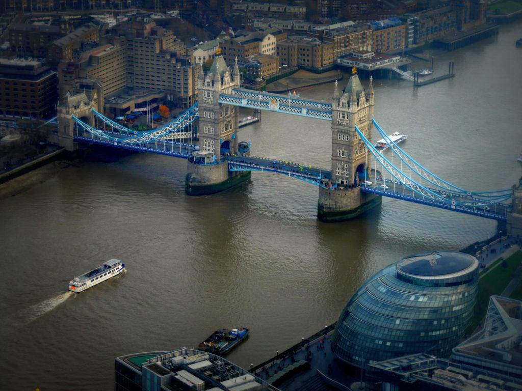 Lontoo maisema