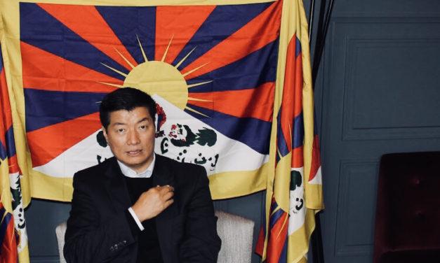 Tiibetin pakolaishallituksen (Central Tibetan Administration) presidentin Lobsang Sangayn koko haastattelu Helsingissä 13.10.2018.