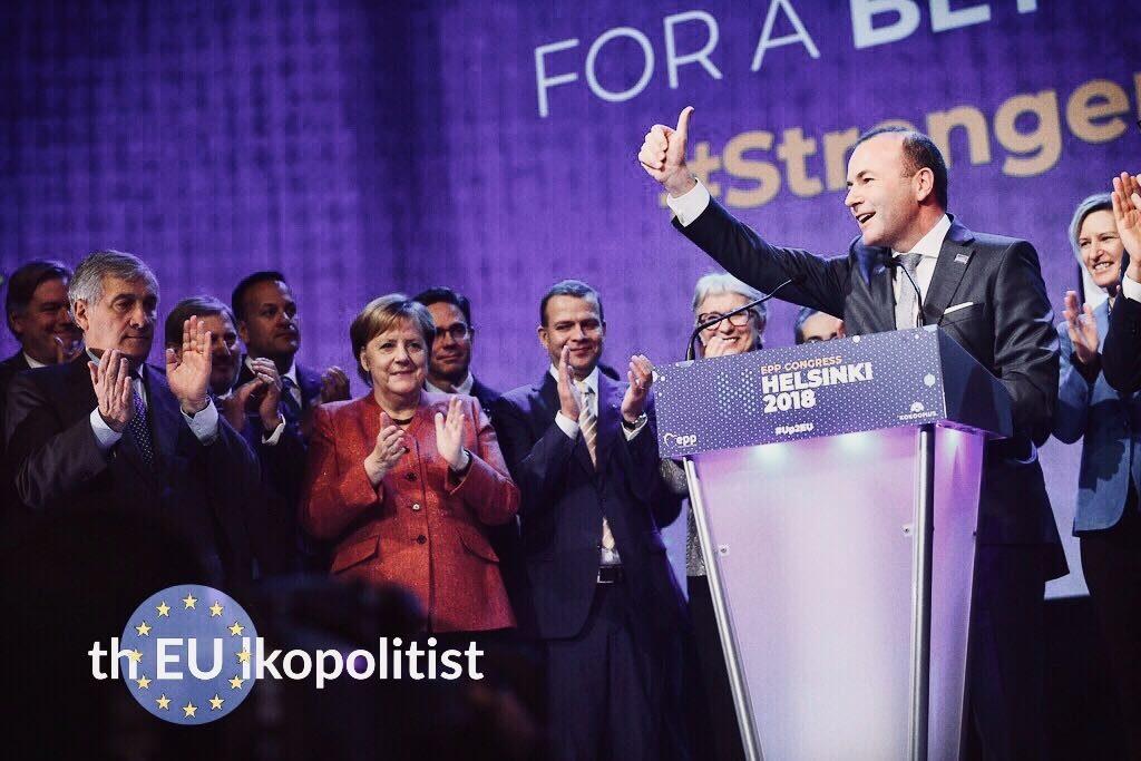Manuel Weber EPP:n Helsinki-konferenssissa