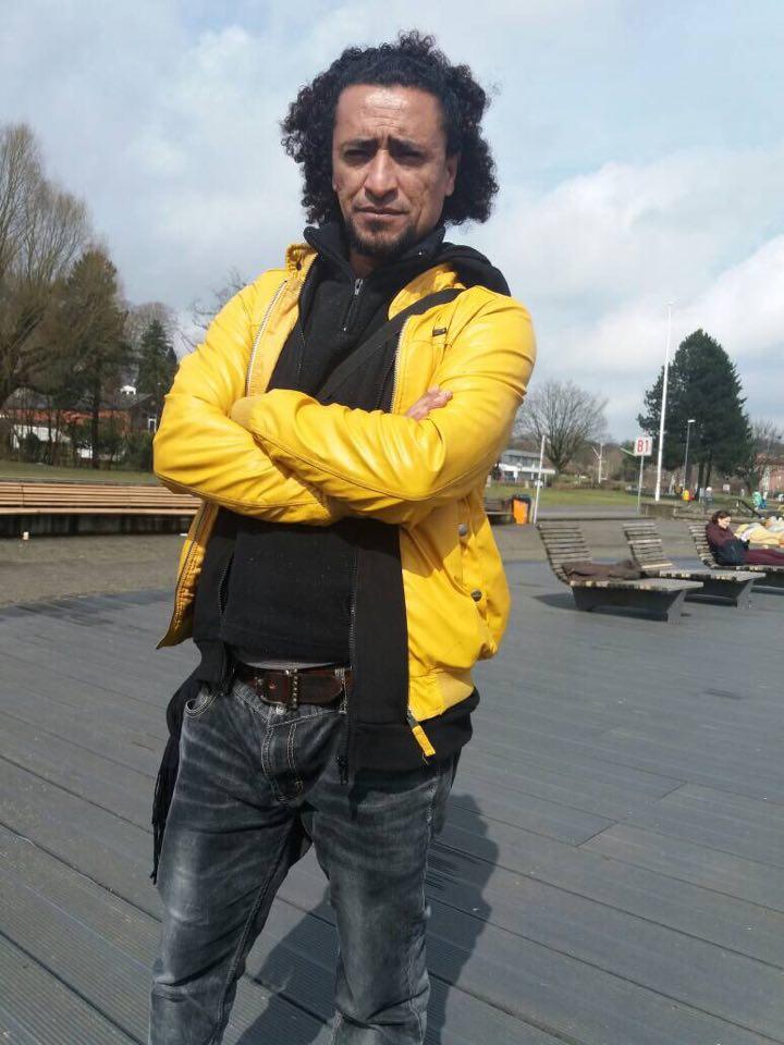 Khaled Shanoon Saksassa vuonna 2019