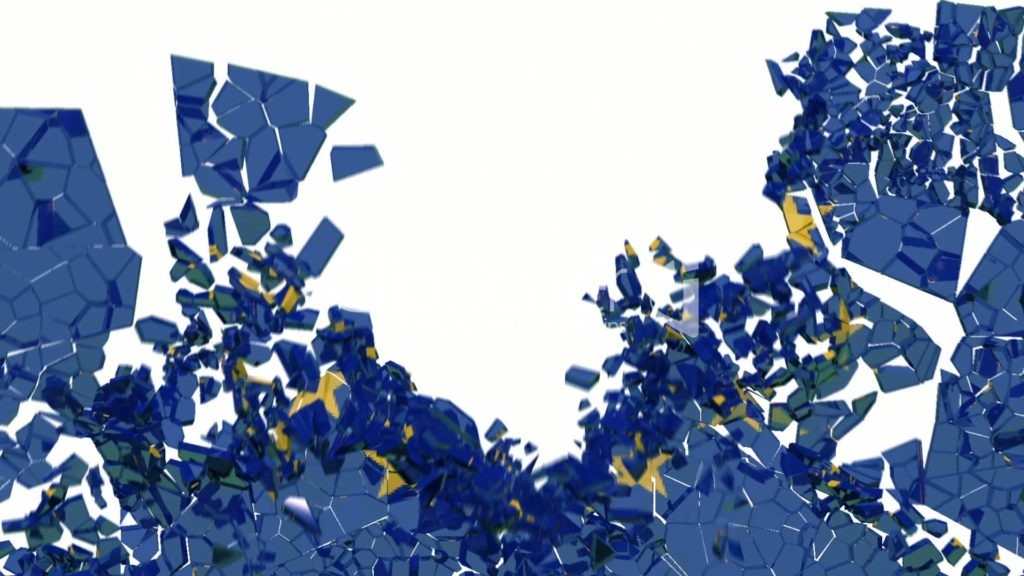 EU kartta sirpaleine