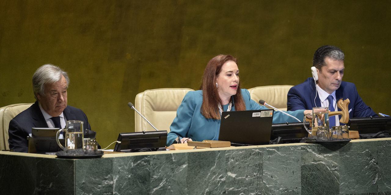 YK:n yleiskokouksen puheenjohtajana olisi toivottavaa nähdä useammin naisia